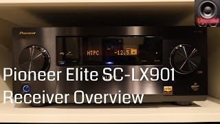 Pioneer Elite SC-LX901 ATMOS 11 Channel Receiver Overview