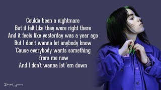 Everything I Wanted   Billie Eilish (Lyrics) 🎵