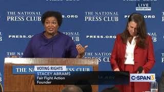 Stacey Abrams: The Electoral College is racist