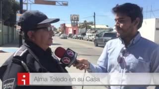 """Entrevista con """"La Toledo"""" en La Paz BCS"""