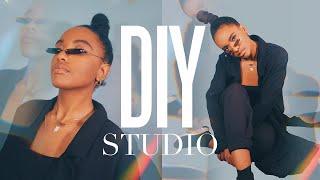 Home Photography Studio UNDER $100 | DIY Photo/Video Studio In Your Bedroom!