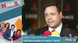 Rodrigo Vidal Habla Sobre Su Pleito Con María Luisa Doria | Intrusos-Nu9ve
