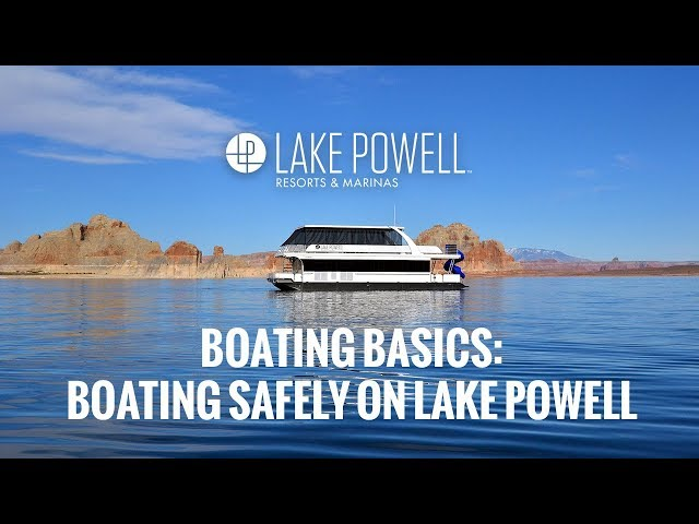 Boating Safely on Lake Powell
