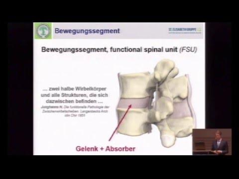 Rückenschmerzen Gelenke knirschen