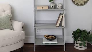 Fargo Modern Ladder Bookshelf