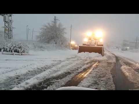 הסערה בעיצומה: בירושלים מחכים לשלג, חסימות צירים ברמת הגולן
