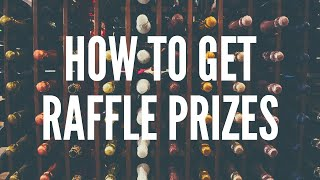 Raffle prize ideas & how to find companies willing to donate (2020)