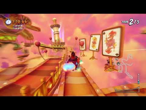CTR NF: Time Trial Piste Air/Hot Air Skyway 2:17:40 #PS4/FR