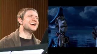 The Pirates! Band of Misfits - Vidéo de tournage de Martin Freeman
