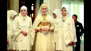 Most Beautiful Brides Jilbab Matches & Fancy Islamic Wedding Dresses New Collection
