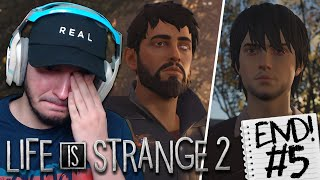 END OF THE STORY | Life is Strange 2 - Episode 5: WOLVES (FULL GAMEPLAY & ALL ENDINGS!)