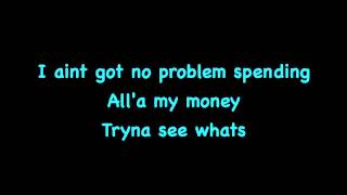 T-Pain  Ft B.o.B-Up Down Lyrics On Screen(Do this all day)