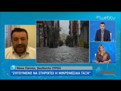Ο βουλευτής του ΣΥΡΙΖΑ, Νίκος Παππάς, στην ΕΡΤ | 05/05/2020 | ΕΡΤ