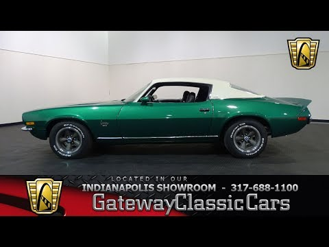 Video of '73 Camaro - NE3J