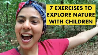 Benefits of a nature walk with children - Holistic & mindful approaches to learning in education