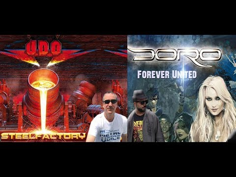 U.D.O. Steelfactory Album Review & Doro Forever Warriors, Forever United Album Review
