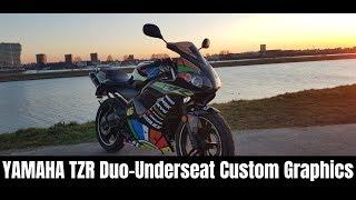 Yamaha-TZR Project/Story   Duo-Underseat   Custom Graphics   50cc   Tuning   (Derbi, Rieju, Aprilia)