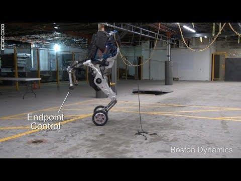 روبوت بقدرات فائقة على التوازن والتحرك بسلاسة في الأماكن الوعرة