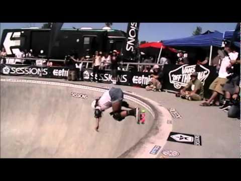 2011 13th Annual Tim Brauch Memorial Skate Contest: Girls' Heat #3 Runs.