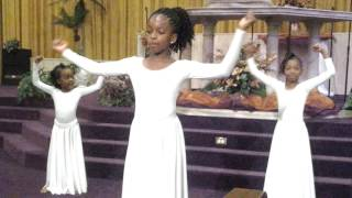 The Presence of the Lord is here Byron Cage Praise Dance