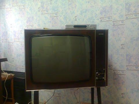 Прикол с лампой 6Х2П во время ремонта телевизора Таурас-207