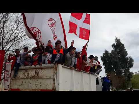 """""""Huracan de comodoro rivadavia 11-09-16"""" Barra: Barra de Fierro • Club: Huracán de Comodoro"""