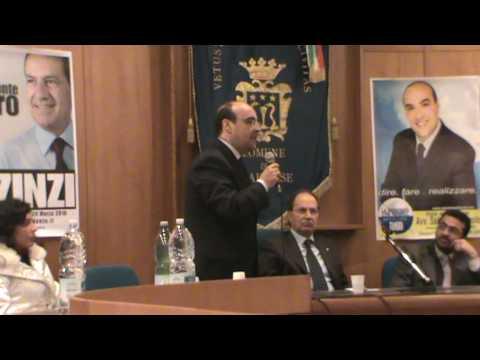 immagine di anteprima del video: Apertura campagna elettorale 2010