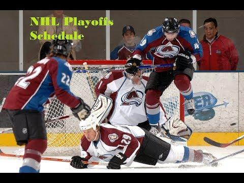 NHL Playoff Schedule | www wtibo com