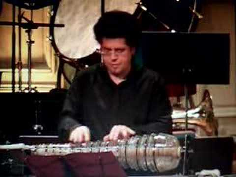 Glassharmonica & quartet / Rondo K617 Mozart by Thomas Bloch