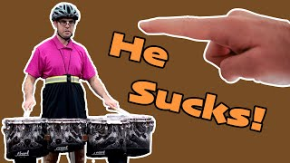 The WORST Drumline I&E Solo EVER || Behind the Gock Block Ep. 4