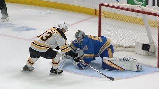 Bruins, Blues settle it with six-round shootout