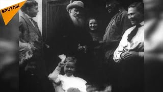 レフ・トルストイの生家ヤースナヤ・ポリャーナ、アーカイブからの映像
