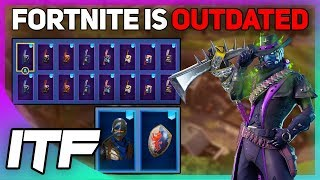 Fortnite Is OUTDATED and BROKEN (Fortnite Battle Royale)