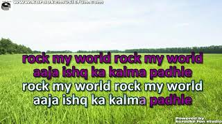 Ishq Ka Kalma Video Karaoke With Lyrics - YouTube