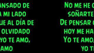 He Llorado (Como Un Niño) - Juan Magan ft. Gente De Zona (Letra)