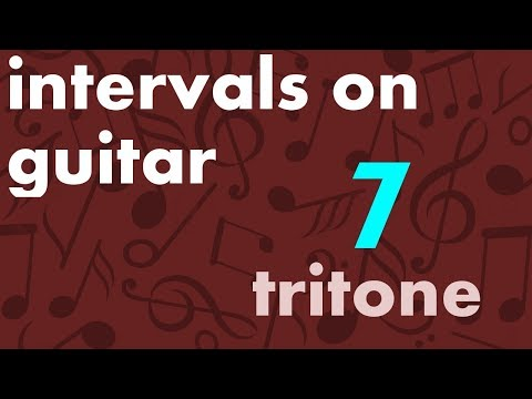 Train Your Ear - Intervals on Guitar (7/15) - Tritone (b5)