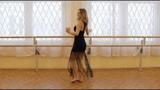 رقص دختر روس با ۶ آهنگ ایرانی - Russian girl dances Iranian dances