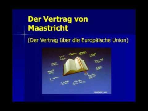 25 Jahre Maastricht Vertrag Kein Grund Zum Feiern Europa Und Euro