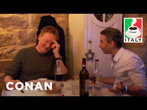 Conan v Itálii #6: Jordanova oblíbená restaurace - CONAN