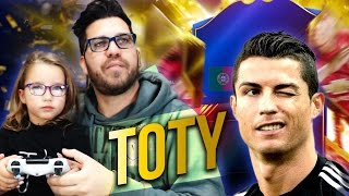 TOTY PACK OPENING FIFA 17 Ultimate Team (LA GUERRA DEI TOTY)