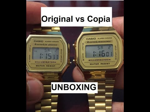 Comparación ORIGINAL vs Copia! - Reloj Casio Vintage Collection.