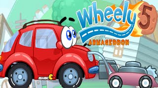 Wheely 5 Armageddon Walkthrough All Levels HD