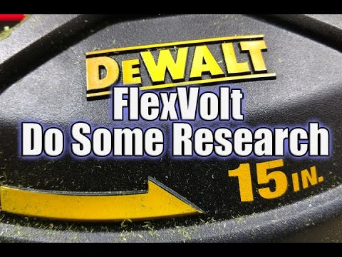 DEWALT FlexVolt 60V String Trimmer Review – DCST970X1