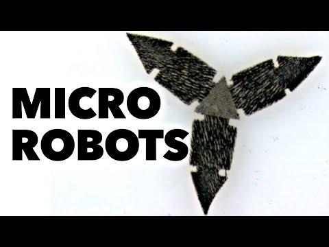 Magnetičtí mikro-roboti