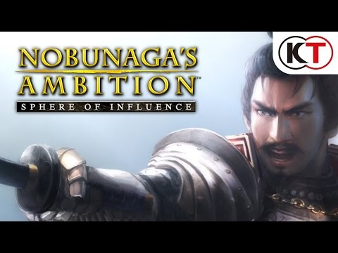 NOBUNAGA'S AMBITION: SPHERE OF INFLUENCE - LAUNCH TRAILER thumbnail