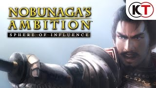 NOBUNAGA'S AMBITION: Sphere of Influence video
