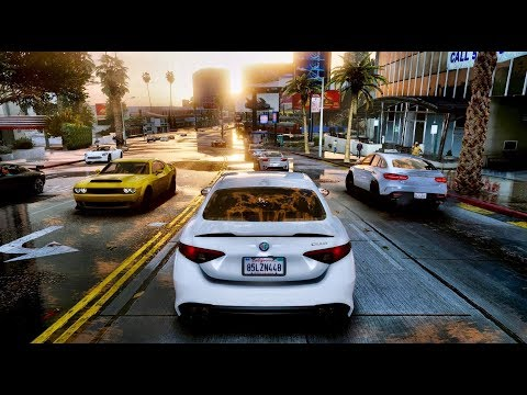 ►GTA 6 NEW 2019 ✪ REAL LIFE GRAPHICS GAMEPLAY! GEFORCE RTX™ 2080 Ti 60 FPS [GTA 5 PC MOD]