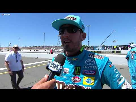 Kyle Busch: 'Pumped I actually ran good here'
