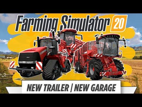 Farming Simulator 2020   FS 20   Trailer Overview   New garage