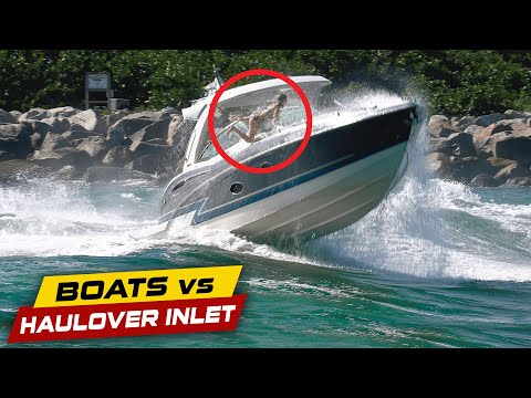TEEN GIRL GOES OVERBOARD!! INSANE! | Boats vs Haulover Inlet